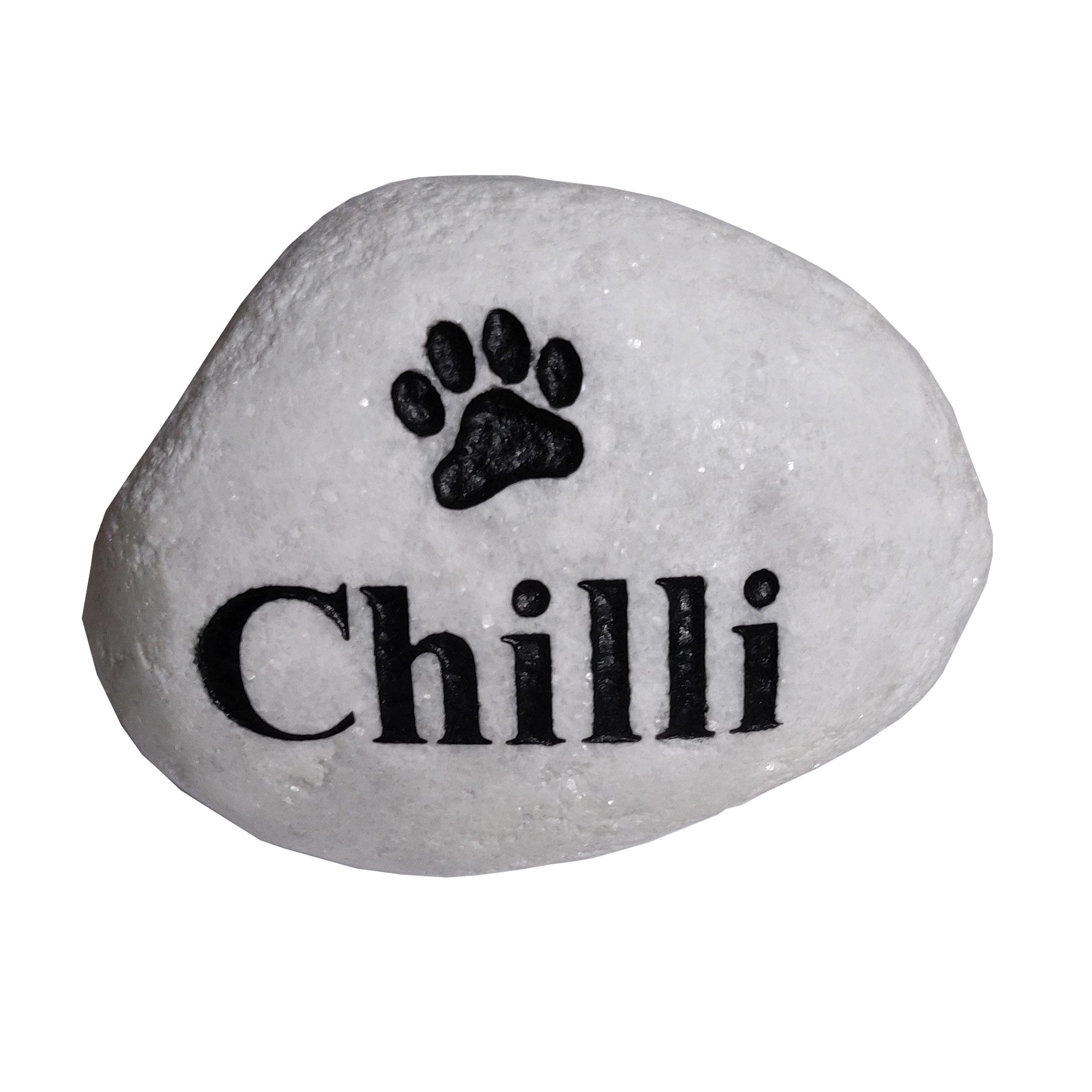 pet-memorial-pebble Pet Memorial Stones for Your Garden