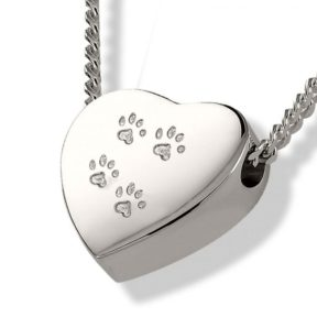 heart-urn-pendant-paw-prints-288x288 Keep Them Close with Pet Memorial Jewellery