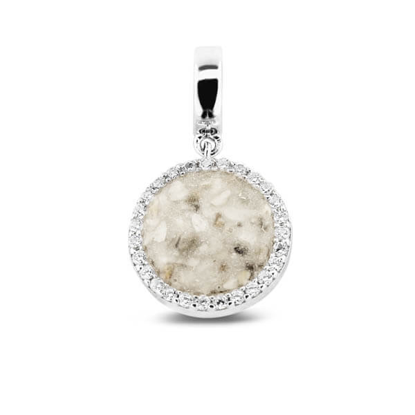 806-S-round-pendant-charm Create a Stunning Tribute with See You Pet Memorial Jewellery