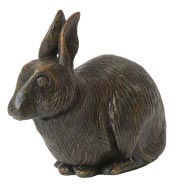 bronze-effect-rabbit-sm Cremation Services for Rabbits and Smaller Pets