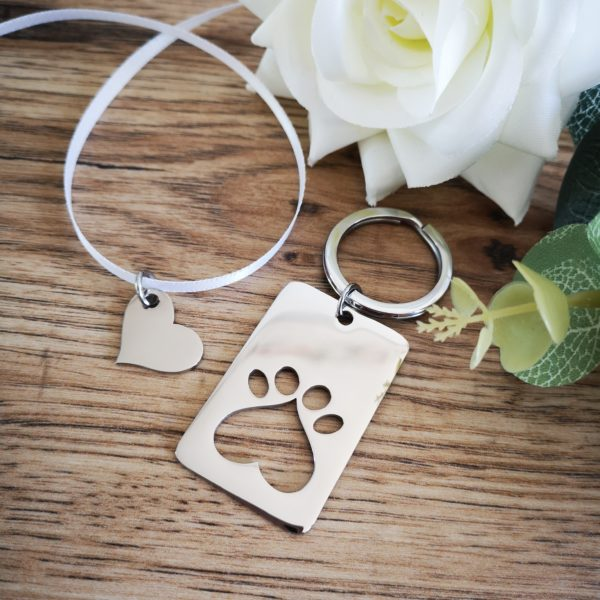 Heart in Paw Pet Keepsake