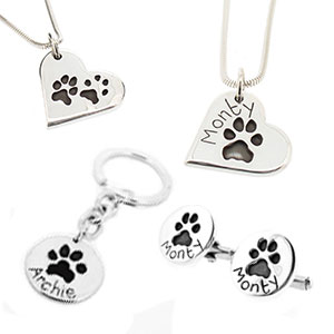 christmas-gift-ideas-for-pet-lovers-paw-print-jewellery Christmas Gifts for Pet Lovers
