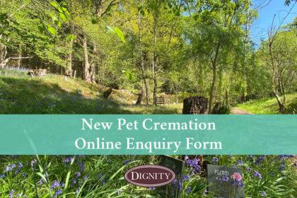 Pet Cremation Online Enquiry Form